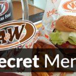 A&W Restaurants Secret Menu