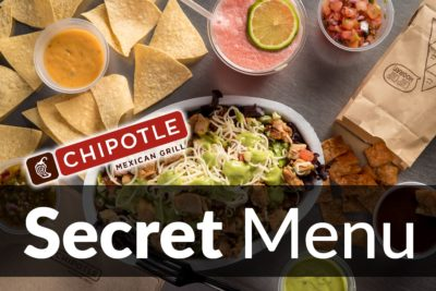 Chipotle Secret Menu