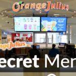 Orange Julius Secret Menu