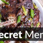 P.F. Chang's Secret Menu