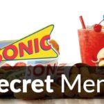 Sonic Drive-In Secret Menu