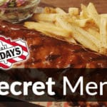 TGI Fridays Secret Menu