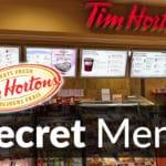 Tim Hortons Secret Menu