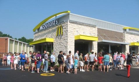 McDonald's Line