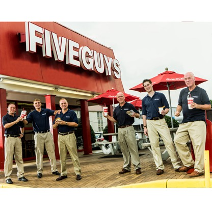 five guys, murrell, brothers