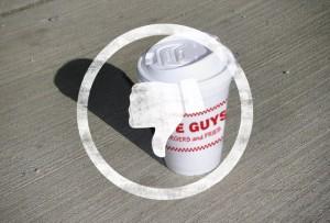 five guys, coffee, bad