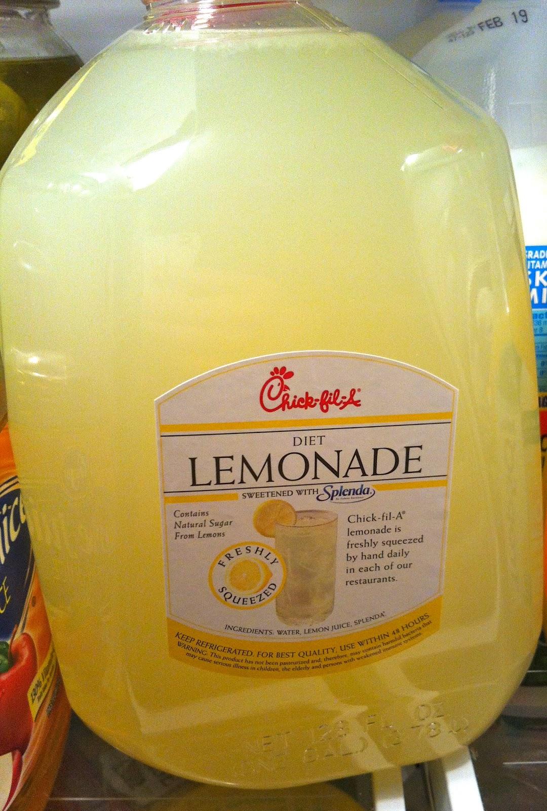 chick-fil-a, lemonade