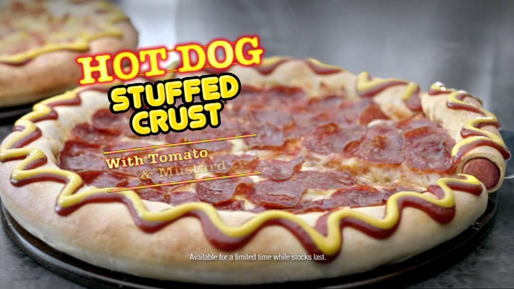 Pizza Hut Hot Dog Stuffed Crust Nutrition