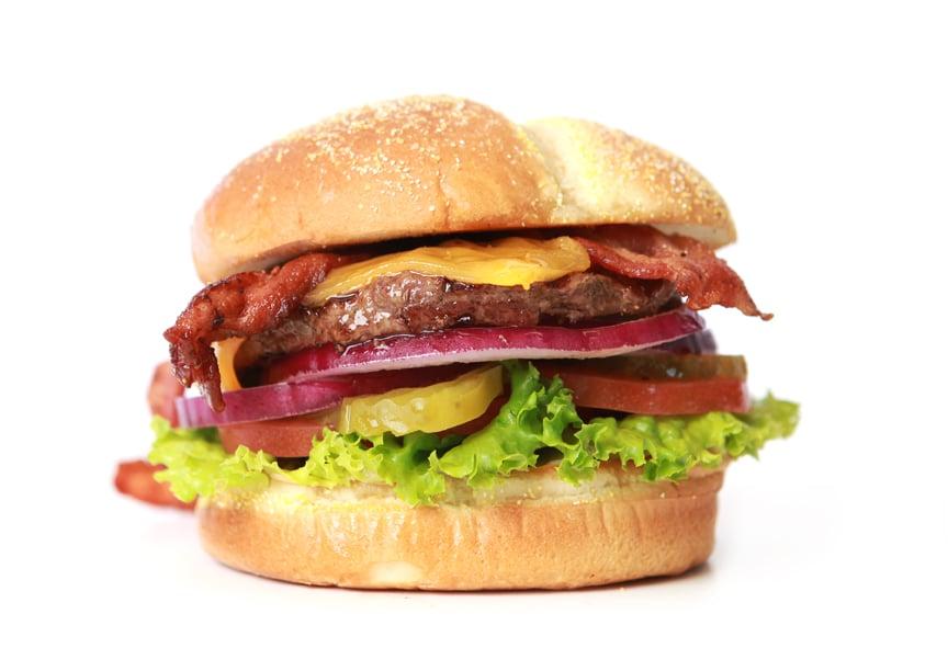 Single burger