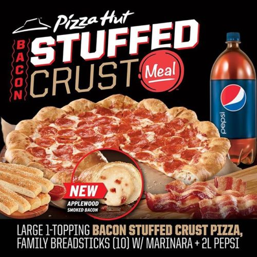 Bacon Stuffed Crust