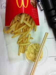 Big Mac Sauce Fries