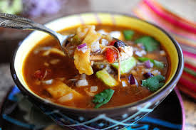 Chicken Tortilla Soup (Hold the Tortilla)