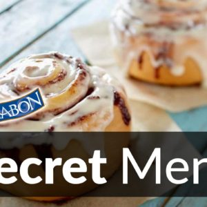 Cinnabon Secret Menu