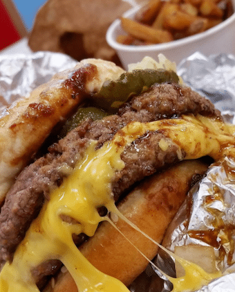 Double Grilled Cheeseburger