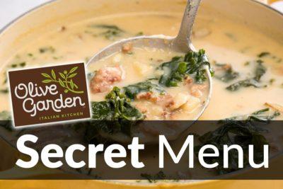 Olive Garden Secret Menu