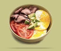 Power Breakfast Egg Bowl With Steak