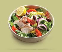 Power Mediterranean Chicken Salad