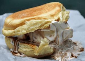 Shake Shack Style Ice Cream Sandwich