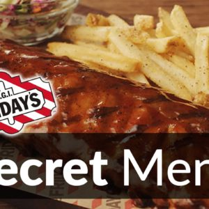 TGI Fridays Secret Menu