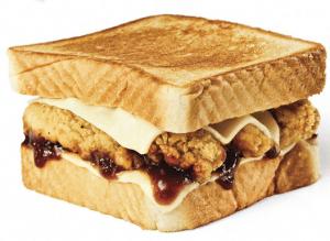 The Honey BBQ Chicken Strip Sandwich
