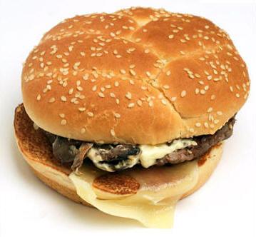 Angus Mushroom & Swiss Burger (No Bun)