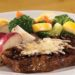 Asiago Peppercorn Steak with Sides