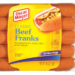 Beef Hot Dogs Franks