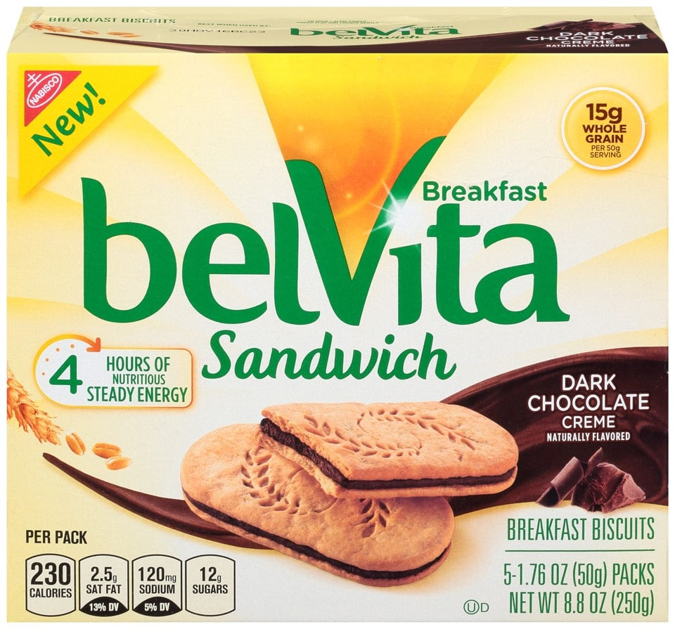 Belvita Biscuits Calories Chocolate