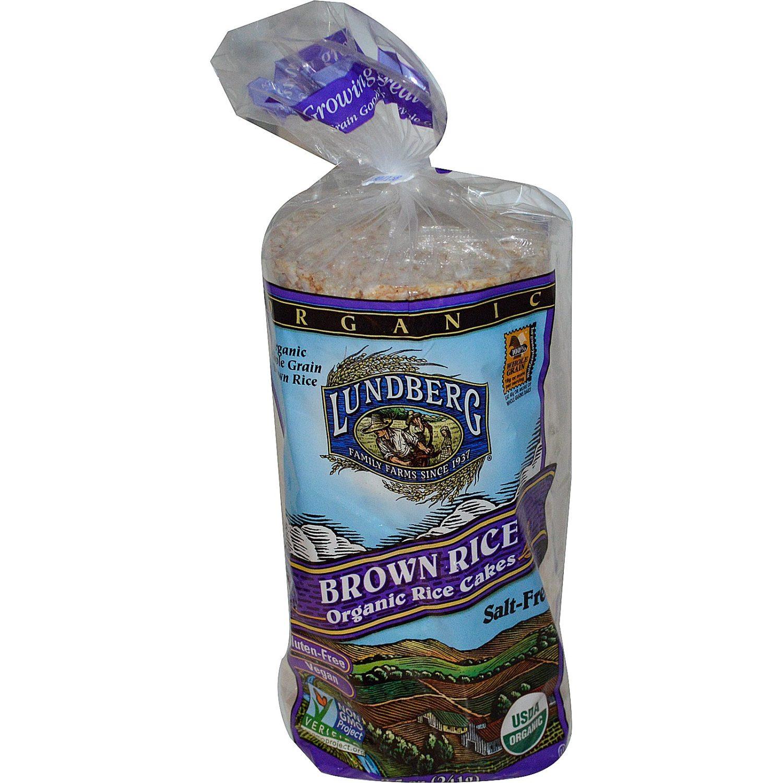 Brown Rice Organic Rice Cakes Salt Free From Lundberg