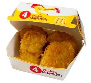 Chicken McNuggets (4 Pieces)