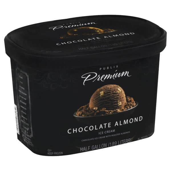Chocolate Almond Ice Cream from Publix | Nurtrition & Price