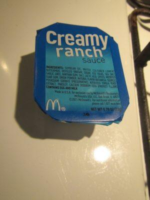Creamy Ranch Sauce