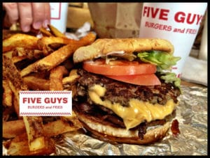 What Is On The Five Guys Secret Menu