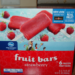 Fruit Bars Strawberry