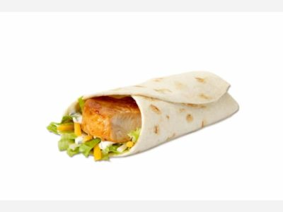 Grilled Ranch Snack Wrap