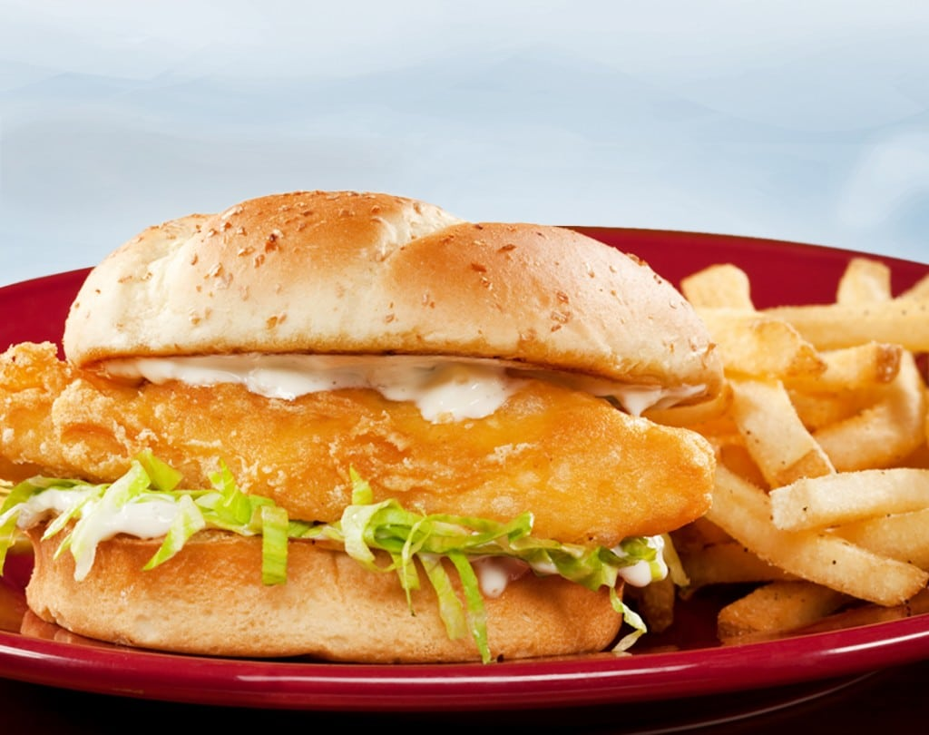 Hand-Battered Fish Sandwich from Applebee's | Nurtrition & Price
