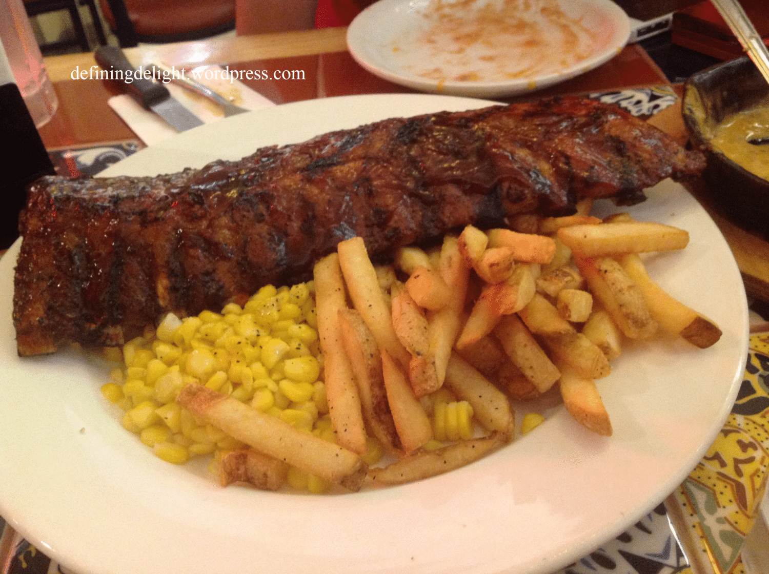 Honey Bbq Ribs From Chili S Nurtrition Amp Price