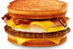 Loaded Grilled Breakfast Sandwich