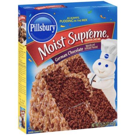 Pillsbury Chocolate Cake Mix Nutrition