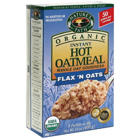Nature S Path Oatmeal Nutrition