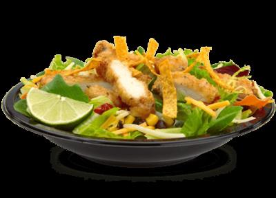 Premium Southwest Salad with Crispy Chicken