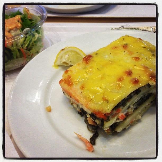 salmon lasagna from ikea