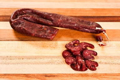 Smoked Venison Semi Dry Sausage From Central Market