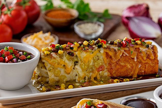 Smothered Prime Rib Burrito From Chili S Nurtrition Amp Price