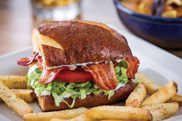 Southwestern BLT Sandwich with Fries from Chili's | Nurtrition & Price