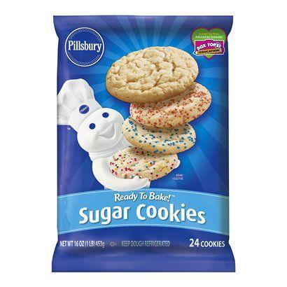 Sugar Cookies From Pillsbury Nurtrition Price
