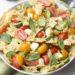 Tomato Mozzarella & Pesto Pasta Salad