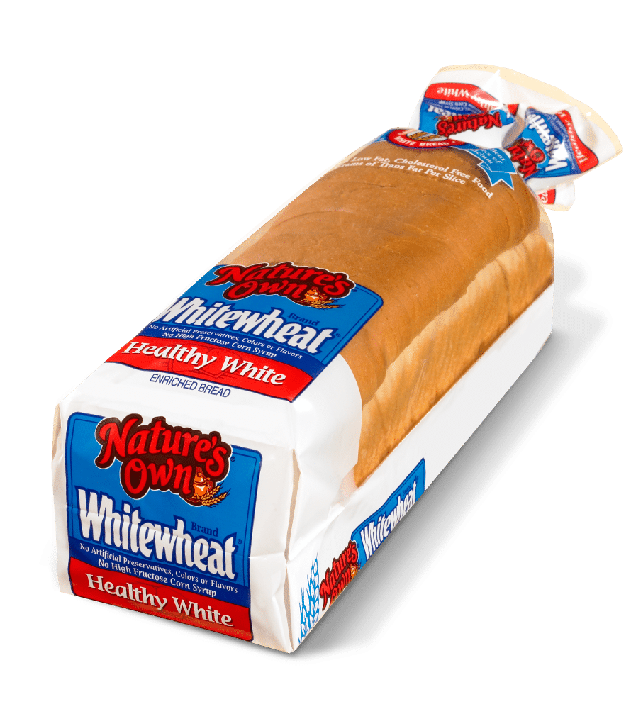 How many calories in white bread