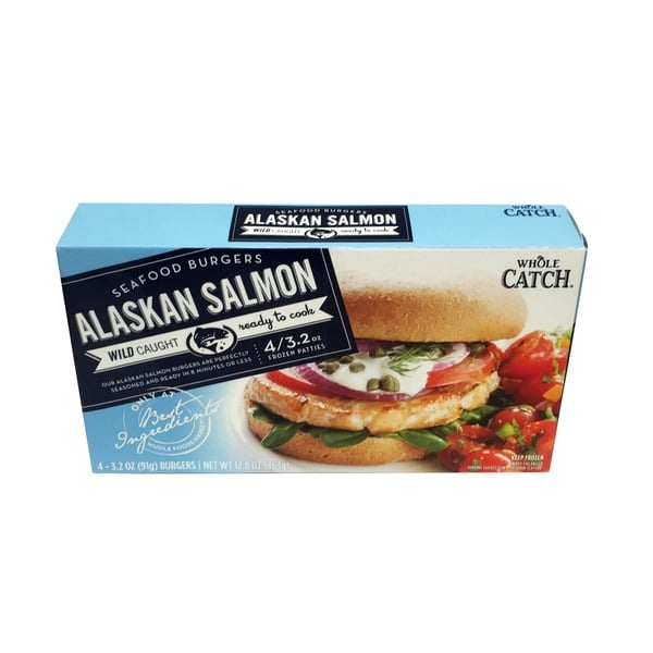 Calories In A Salmon Burger From Whole Foods