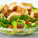 Asian Salad with Grilled Chicken (No Dressing)